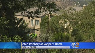 2 Suspects Break Into LA Home Of Rapper Wiz Khalifa
