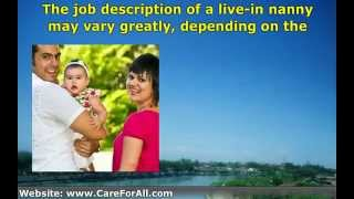 What Does A Live-In Nanny Position Typically Entail?