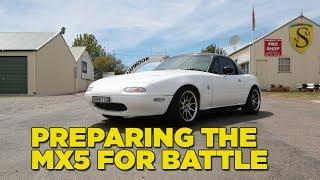 Preparing the Mazda for Battle