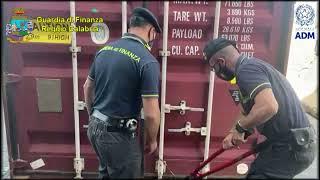 GIOIA TAURO: SEQUESTRATI DALLA GDF 108 KG DI COCAINA