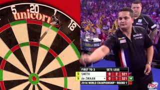 ELEVEN PERFECT DARTS and the crowd goes wild!!! #WHDarts #AllyPallyMagic