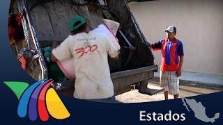 El duro trabajo de recolectar basura | Noticias de Yucatán