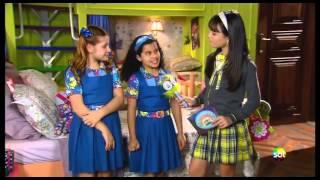 Carrossel TV - Maria Joaquina conhece as caçulas de Chiquititas Tati e Ana