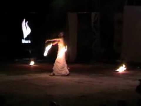 Kiev Fire Fest 2009. Ajuna's performance.