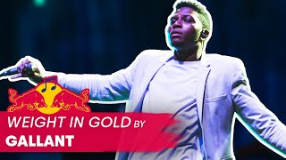 Gallant 'Weight in Gold' Live Performance | World of Red Bull 2016