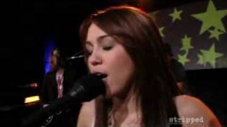 Miley Cyrus - See you again music video (stripped) + lyrics