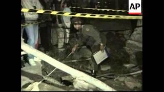 COLOMBIA: BOGOTA: BOMB EXPLOSION