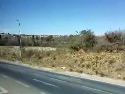 Bus trip to Johannesburg (with sounds from religious TV drama)