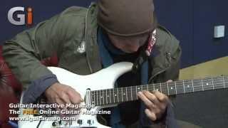 Joe Satriani Blues Guitar Jam with Jamie Humphries | Guitar Interactive Magazine Issue 13