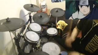 Naruto OP 4 - Drum Cover [Go!!! - Flow]