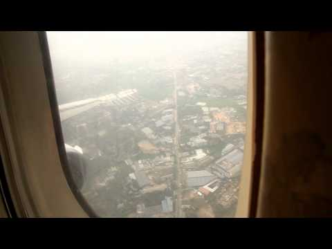 Biman Bangladesh DC10-30 flight from Sylhet to Dhaka