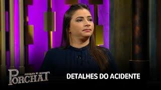 Laís Souza dá detalhes do acidente e conta como recebeu a notícia de que não andaria mais