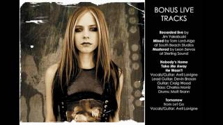 Avril Lavigne - Take Me Away Live Bonus Track from Under My Skin Special Edition HQ