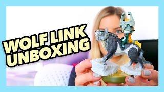 Zelda Twilight Princess - Wolf Link Amiibo unboxing! | iJustine