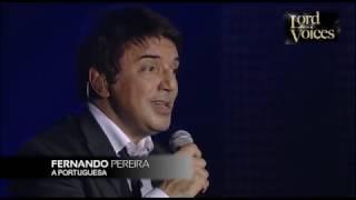 Fernando Pereira, A Portuguesa (Hino Nacional ao Vivo)