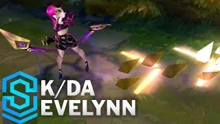 K/DA Evelynn Skin Spotlight - Pre-Release - League of Legends