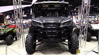 2017 Honda Pioneer 1000 5 Deluxe Side by Side ATV - Walkaround - 2016 EIMExpo Orlando