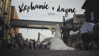 Stephanie & Dayne Wedding Highlight