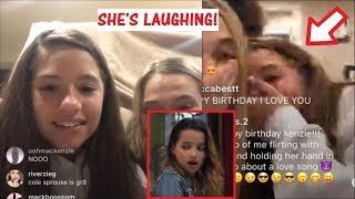 Mackenzie Ziegler MAKES FUN OF Annie LeBlanc's New Music Video