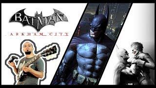 Batman Arkham City - Main Theme Guitar Cover
