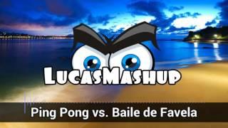 Mc João vs. AvB & Hardwell - Ping Pong vs. Baile d