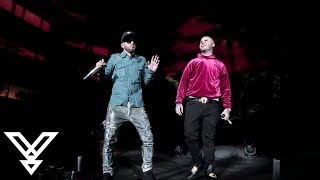 Yandel - Encantadora Remix LIVE Farruko, Zion y Lennox