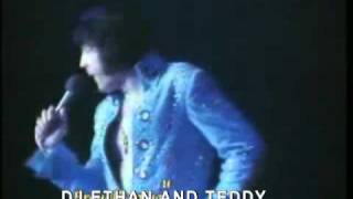 Elvis Presley - Thinking About You live on tour