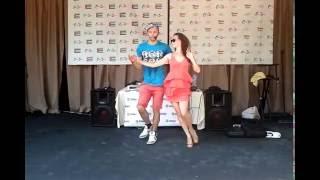 Odess Boom 10 2016 - Salsa Casino Nickolya & Aleona CubanoBoom