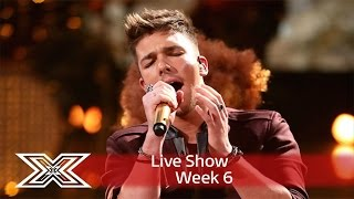 Matt Terry belts out The Emotions Best of my Love | Live Shows Week 6 | The X Factor UK 2016