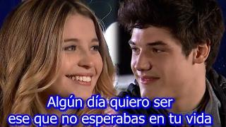 Cancion de Camila y Gael (Ese Beso con tu Nombre - Pablo Heredia feat  Flavia Laos)Letra