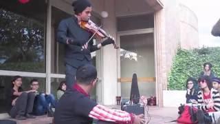 Mephisto Waltz [fragment]  -  Moi dix Mois (Violin live cover)