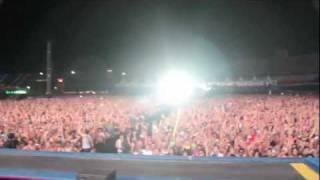 Tiësto with Showtek on the mic @ EDC 2011 Las Vegas
