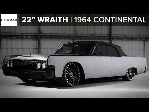 "1964 Classic Continental on Custom 22"" Lexani Wheels"