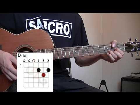 Comment jouer Wish you were here de Pink Floyd à la guitare 2/2