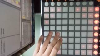 Launchpad Cover Mike Williams - Another Night Remix