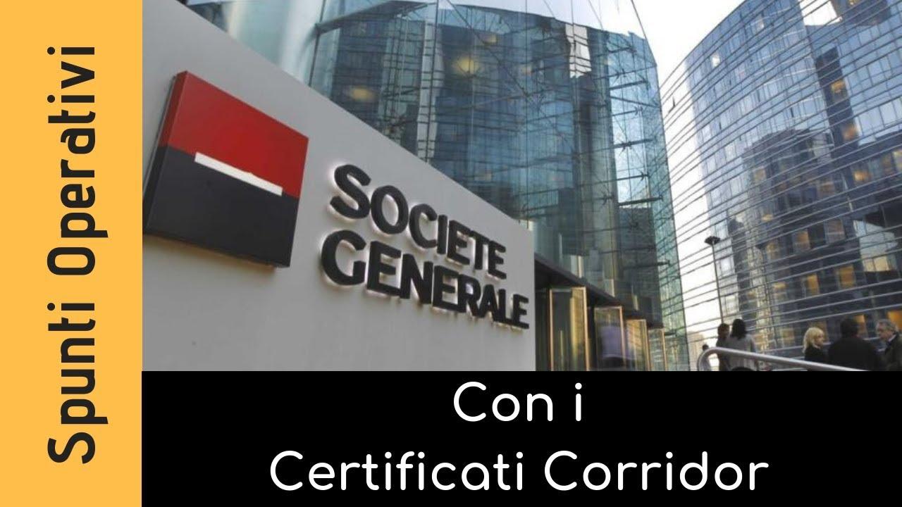 Spunti operativi con i certificati Corridor (29.01.2019)