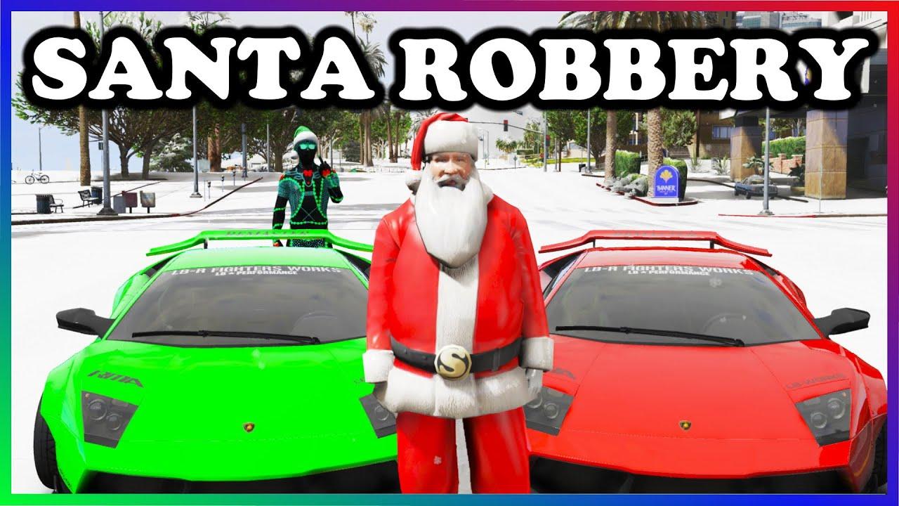 Ramee - GTA 5 Roleplay - SANTA ROBS THE CITY OF REDLINE | RedlineRP