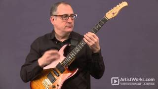 Jazz Guitar Lessons with Chuck Loeb: Constructing Scales