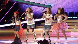 "Spice Girls - ""Wannabe""! Vezi intepretarea trupei Okidoki, la Next Star!"