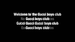 Arcangel   Gucci Boys Club Letra
