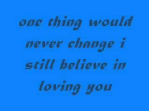 I Still Believe In Loving You Lyrics Sarah Geronimo Chords