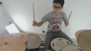 The view from the afternoon - Drum cover