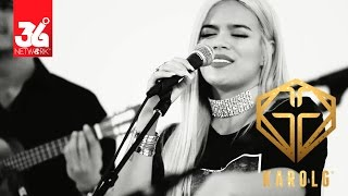 Karol G - Hello Live | YouTube Space Miami