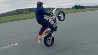 KTM 450 EXC Staggerd Wheelie [BLDH RAW]