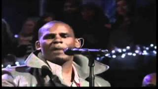 R Kelly - Number one hit LIVE