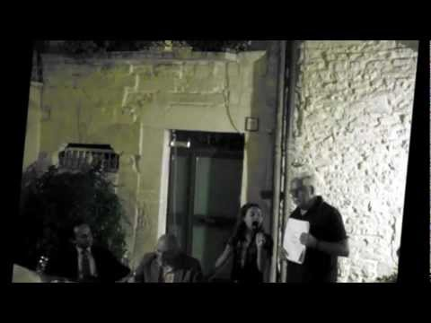 Terlizzi Autori nel Borgo Antico Vito De leo e Enkeledak Kambo 21 Agosto 2012