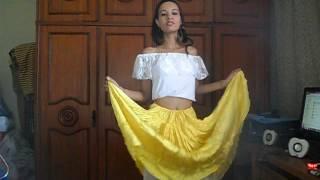 Minha 1° Dança cigana com a música Chei Chovorriho