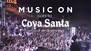 Music On goes to Cova Santa w/ Marco Carola & The Martinez Brothers 03/09/2016