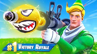 Fortnite But EVERYTHING is GOLD!