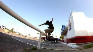 Raw footy skateboarding